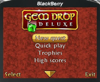Gem Drop Deluxe for blackberry