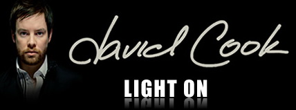 David Cook light on for blackberry